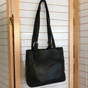 Coach Vintage Waverly Soho small black2 handle bag